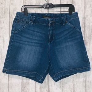 LEE Straight Fit Blue Shorts